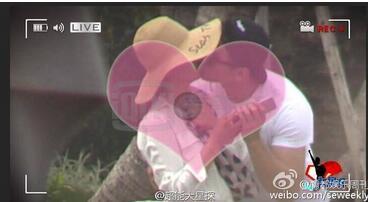 李冰冰恋情曝光 与男友同游三亚甜蜜亲吻 男方系公司高管