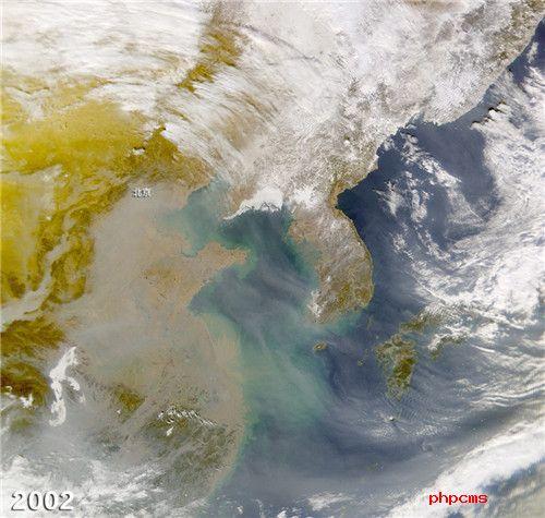 NASA拍北京雾霾 15年变化竟变成这样!太可怕了!
