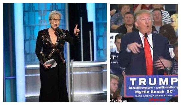 """好莱坞女星炮轰特朗普 批评""""反移民""""论调引发巨大掌声"""