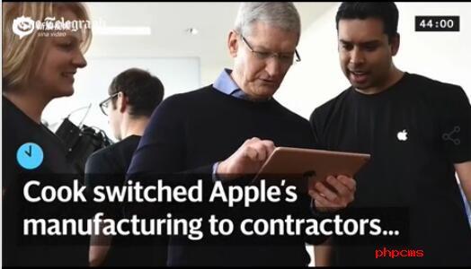 回顾库克职业生涯:从小镇男孩到苹果CEO