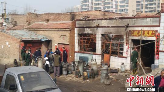 呼和浩特液化气爆炸案:涉案男子被批捕
