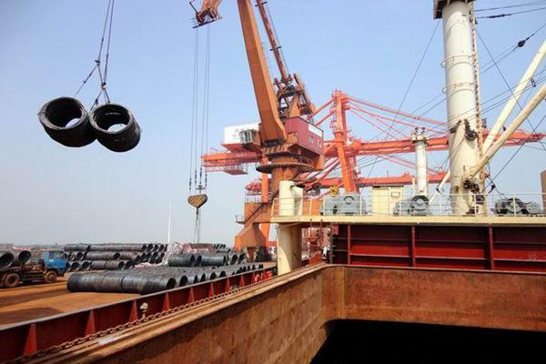 一带一路沿线中国钢材出口:越南居首 在印度阻力大